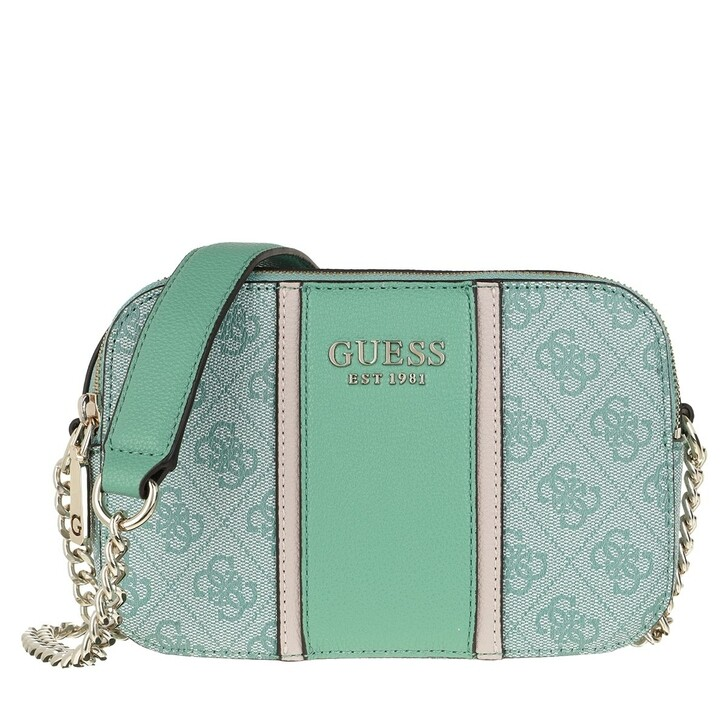 bags, Guess, Cathleen Camera Bag Green