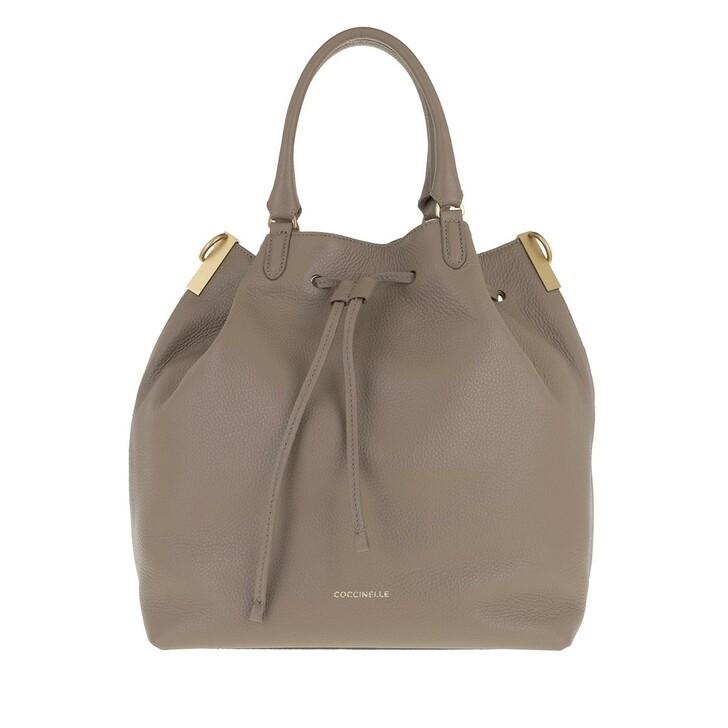 Handtasche, Coccinelle, Gabrielle Taupe