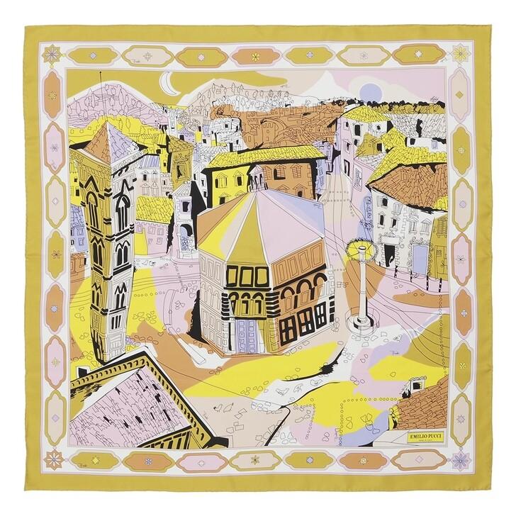 scarves, Emilio Pucci, Scarf Battistero Arc.90X90 Muschio