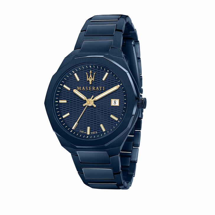 Uhr, Maserati, Blue Edition 3h Dial Blue