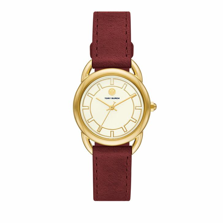 watches, Tory Burch, Women's The Ravello Three-HandStainless Steel Watc Gold