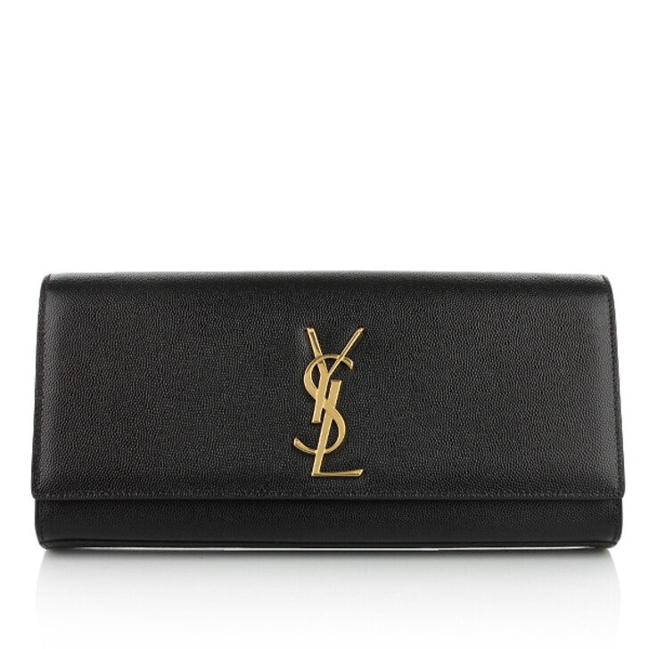 Handtasche, Saint Laurent, Clutch Cassandre Black