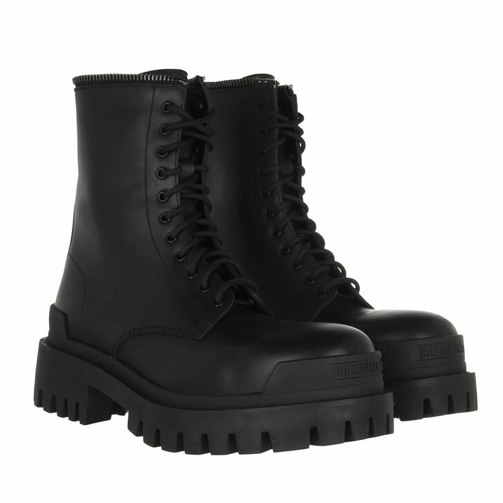 shoes, Balenciaga, Master Bootie Leather Black