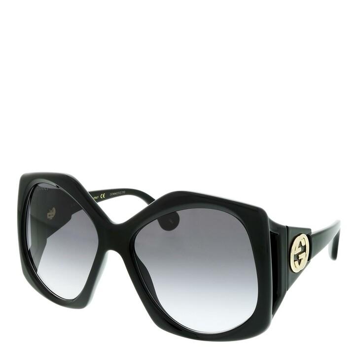 Sonnenbrille, Gucci, GG0875S-001 62 Sunglass WOMAN INJECTION BLACK