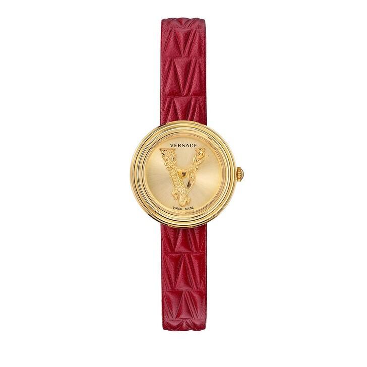 watches, Versace, MINI VIRTUS Watch Red