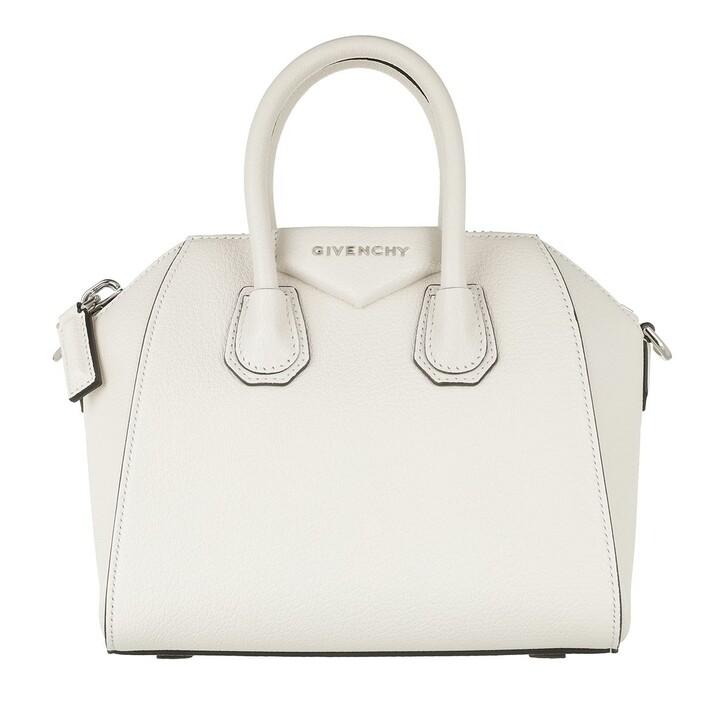 Handtasche, Givenchy, Antigona Mini Bag  Ivory
