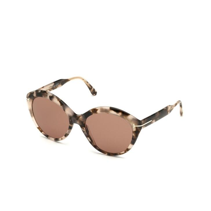 Sonnenbrille, Tom Ford, Women Sunglasses FT0763 Havanna/Brown