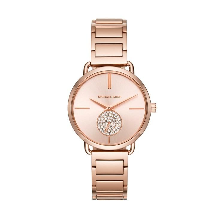watches, Michael Kors, Portia Ladiesmetals Watch Rosegold