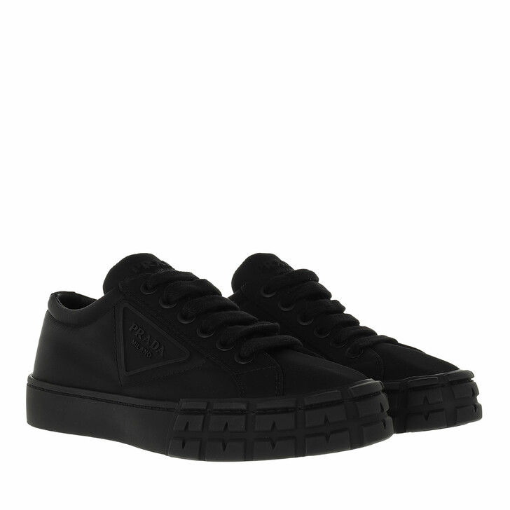 shoes, Prada, Sneakers Nylon Black