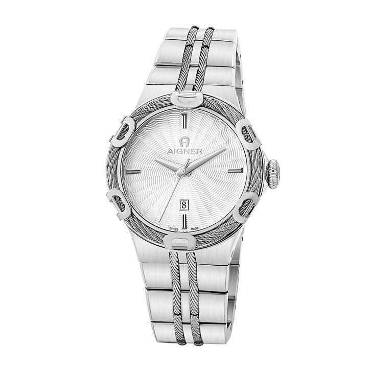 Uhr, AIGNER, PARMA Watch Silver