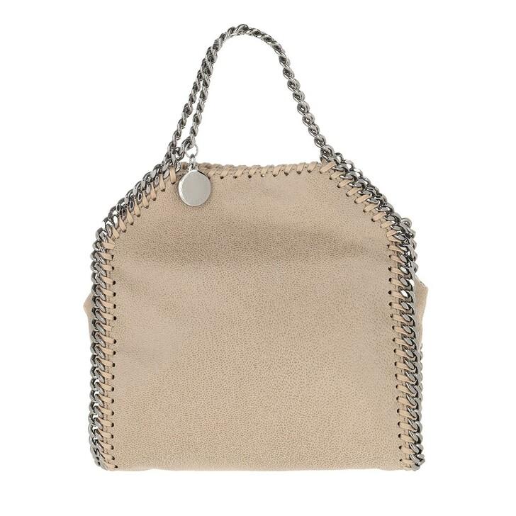 Handtasche, Stella McCartney, Tiny Falabella Shaggy Deer Butter Cream