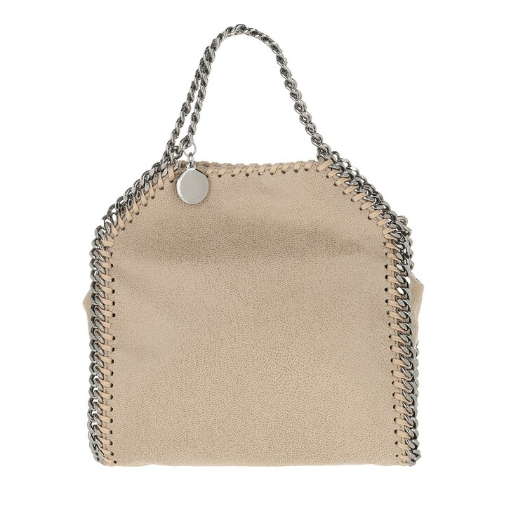bags, Stella McCartney, Tiny Falabella Shaggy Deer Butter Cream