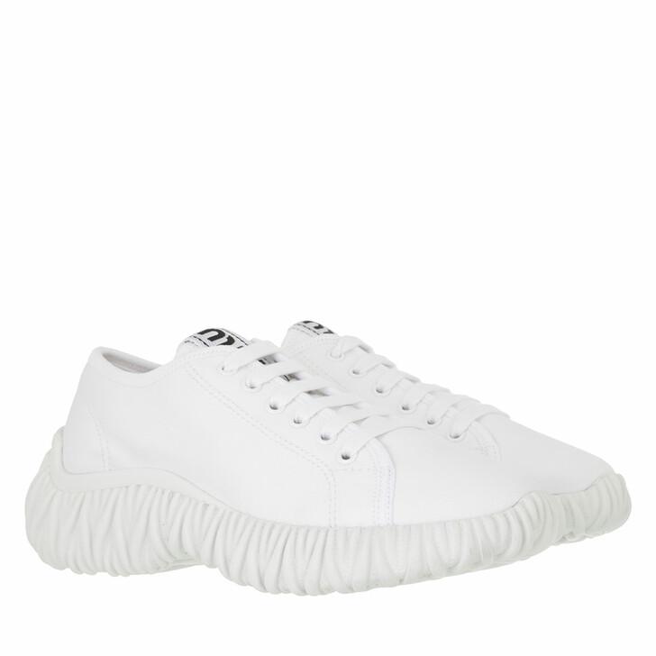 shoes, Miu Miu, Sneakers Cotton Gabardine White