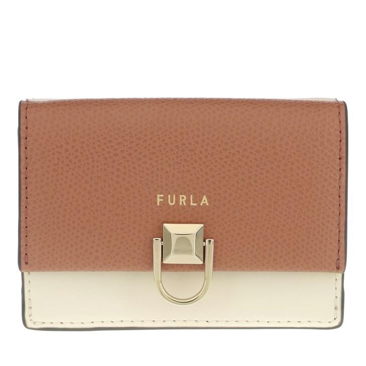 Geldbörse, Furla, Furla Miss Mimi' S Compact Wallet Miele+Pergamena