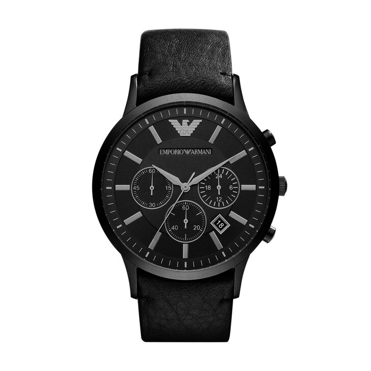 Uhr, Emporio Armani, Renato Dress Watch Black