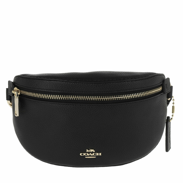 Handtasche, Coach, Polished Pebble Bethany Belt Bag Gd/Black