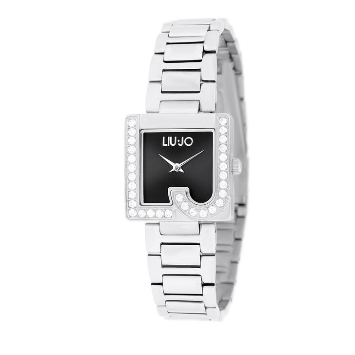 Uhr, LIU JO, TLJ1821 Giulia Quartz Watch Silver Black