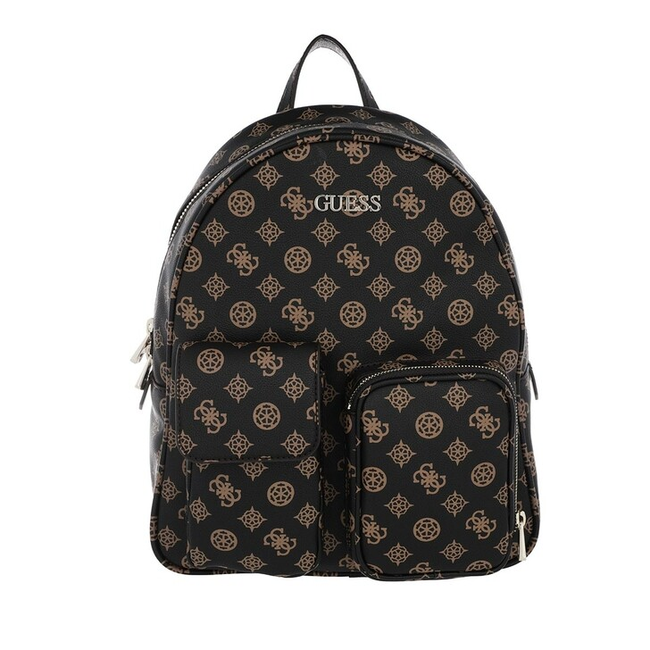 Reisetasche, Guess, Utility Vibe Large Backpack Brown