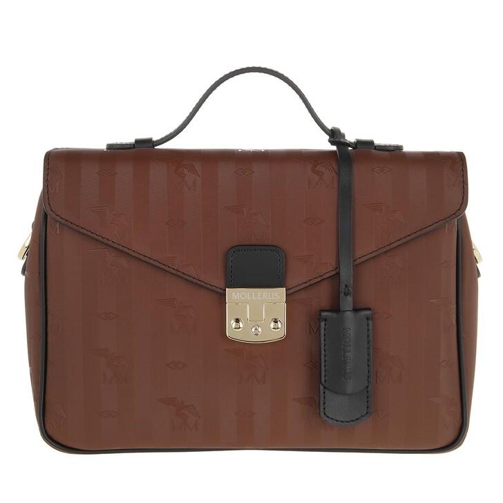 bags, Maison Mollerus, Marly Crossbody Bag Hazelnut Black