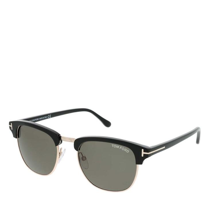 Sonnenbrille, Tom Ford, Men Sunglasses FT0248 Black/Green