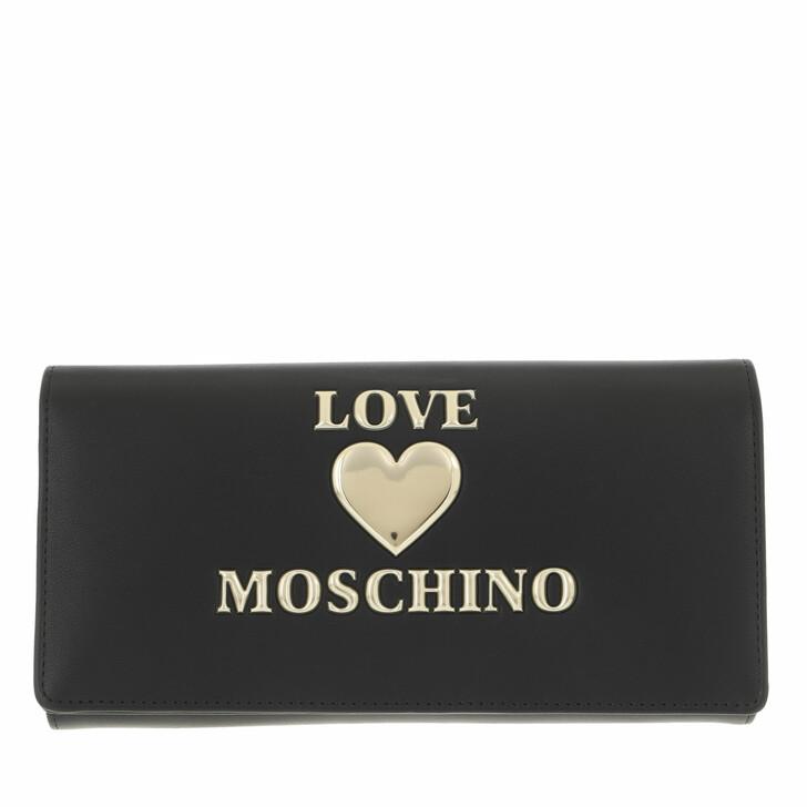 bags, Love Moschino, Portafogli Pu Nero