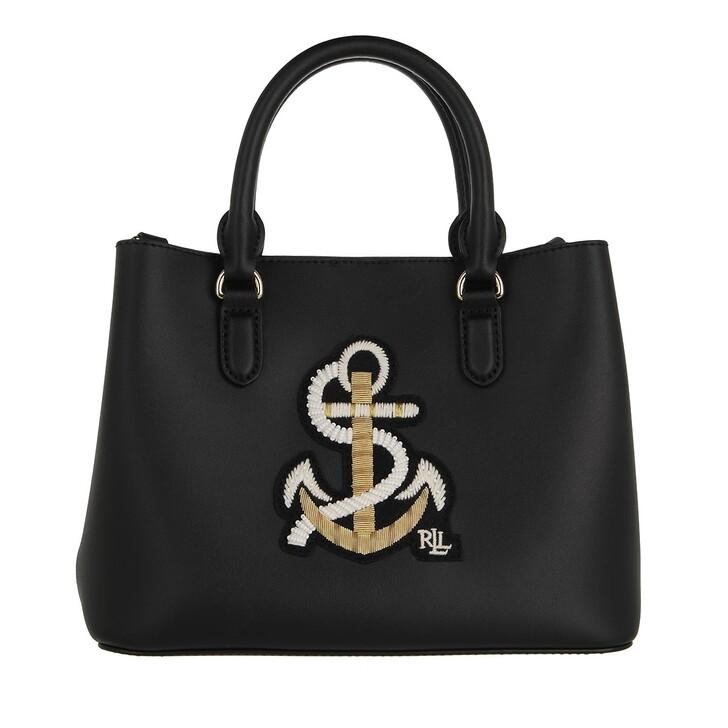 bags, Lauren Ralph Lauren, Marcy Ii Satchel Mini Black