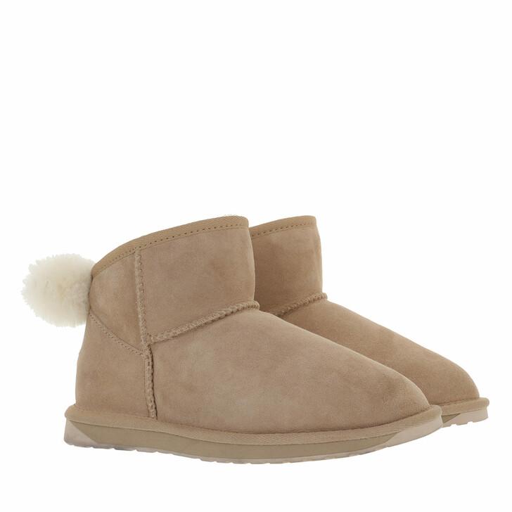 shoes, EMU Australia, Rigel Boot Sheepskin Almond