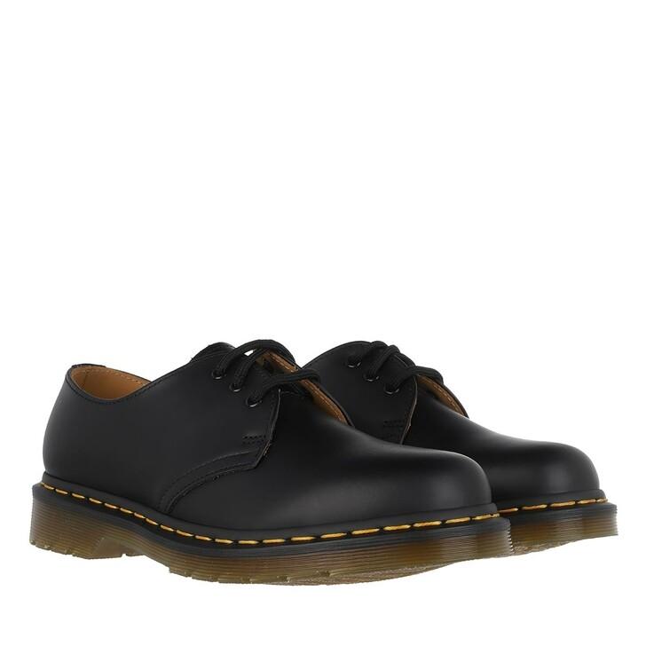 Schuh, Dr. Martens, 1461 Smooth Wingtip Shoe Black