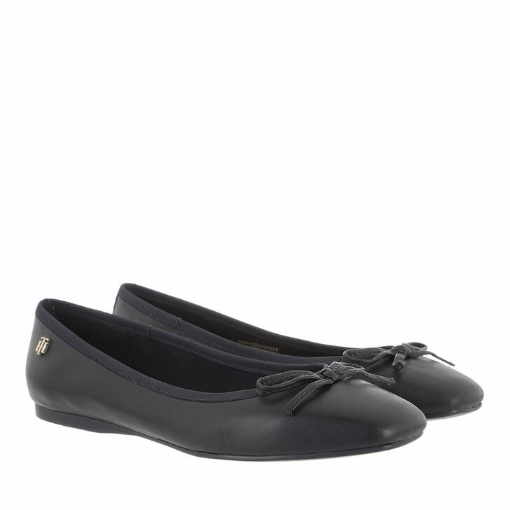 Schuh, Tommy Hilfiger, Essential Square Toe Ballerinas Desert Sky