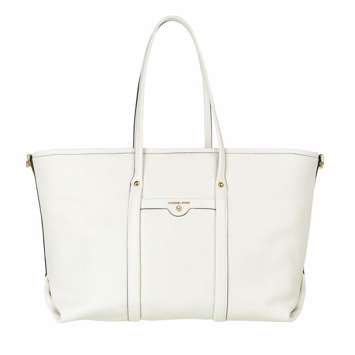 Handtasche, MICHAEL Michael Kors, Large Tote Optic White