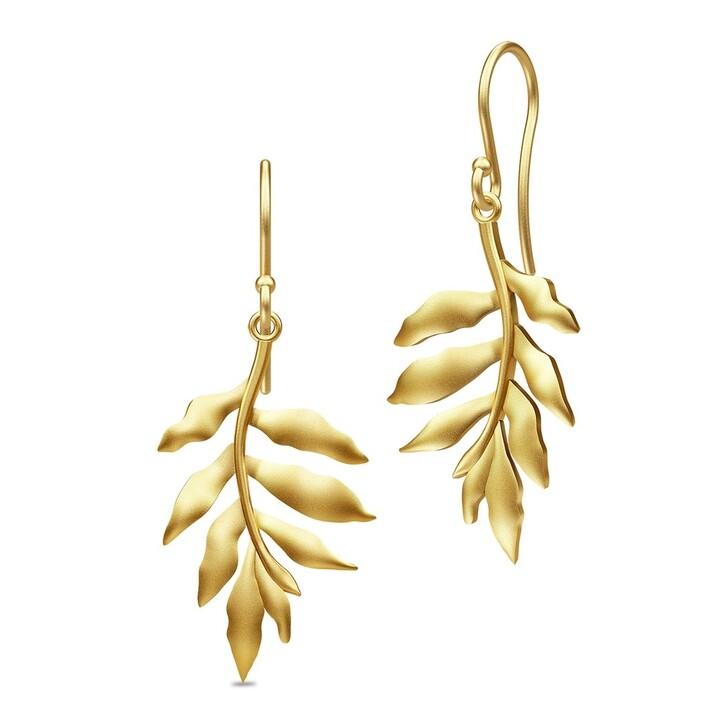 earrings, Julie Sandlau, Tree of Life Earring Gold