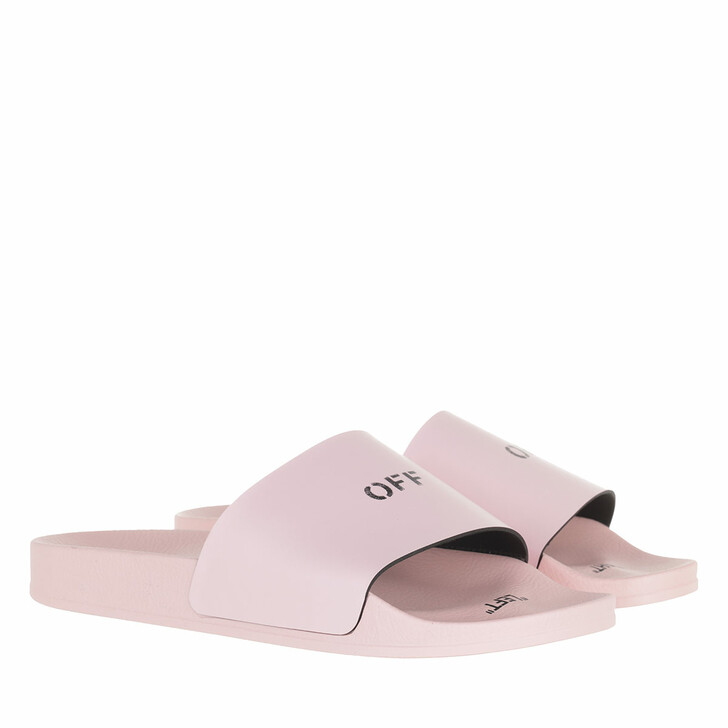 shoes, Off-White, Pool Slider Pink/Black