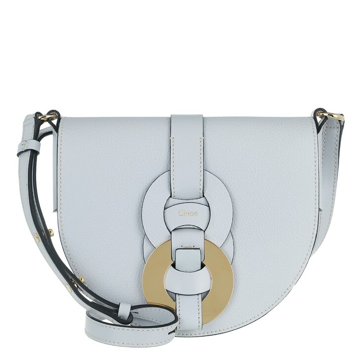 Handtasche, Chloé, Small Darryl Crossbody Bag Calfskin Light Cloud