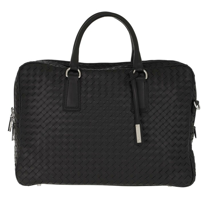 Handtasche, Abro, Very Busy Business Shopper Black/Nickel