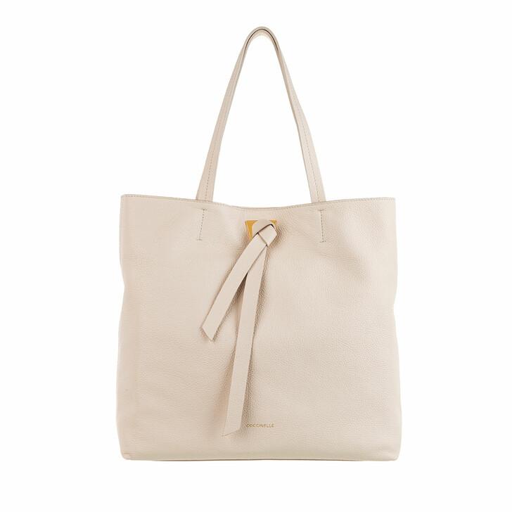 Handtasche, Coccinelle, Joy Shopper Lambskin White