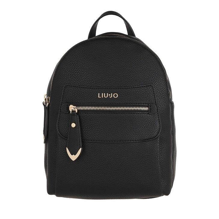 Reisetasche, LIU JO, Medium Backpack Nero