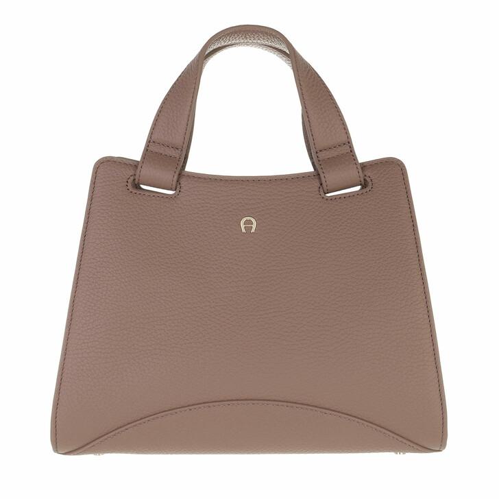 bags, AIGNER, Selma Handbag Mushroom Brown