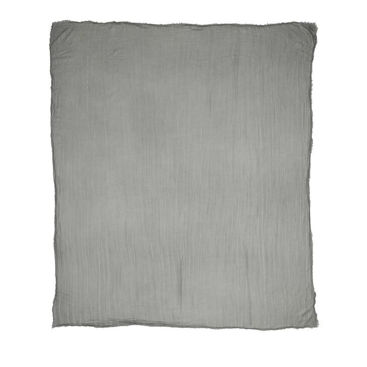 Schal, Roeckl, Shiny Waves Scarf 140x180 Grey Silver