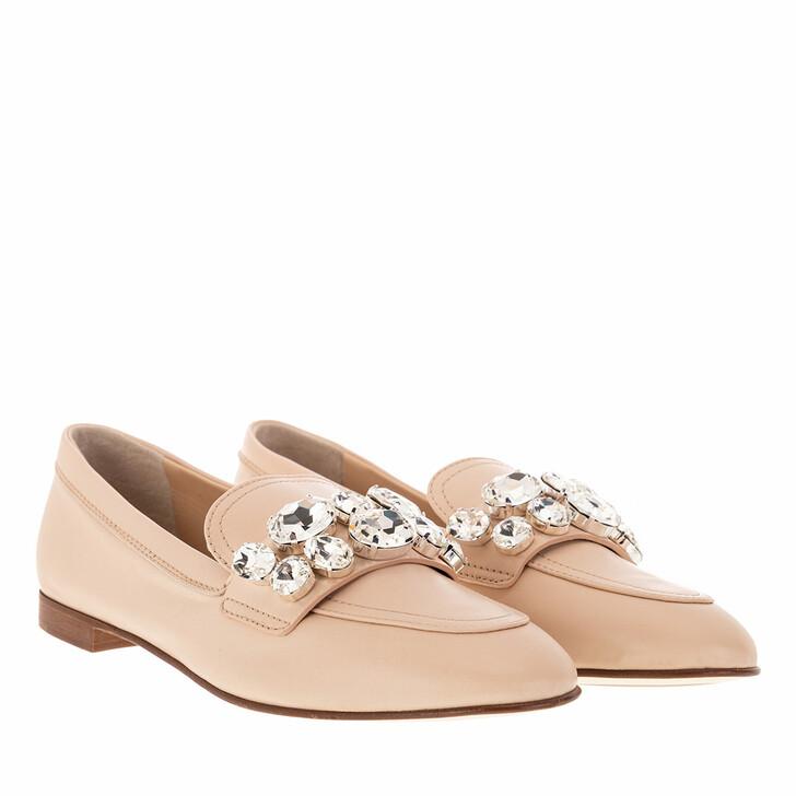 shoes, Casadei, BALLERINA ELI+R.OR.NIK POWDER
