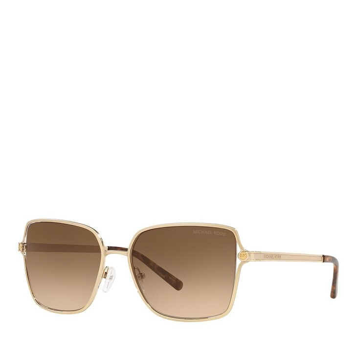 Sonnenbrille, Michael Kors, 0MK1087 SATIN LIGHT GOLD