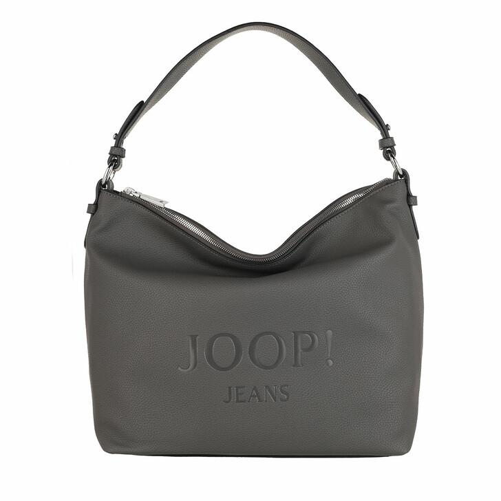 Handtasche, JOOP!, Lettera Dalia Hobo Darkgrey