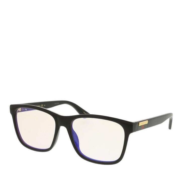 sunglasses, Gucci, GG0746S-005 57 Sunglass Man Photocromatic Lens & Blue Blocker Black-Yellow