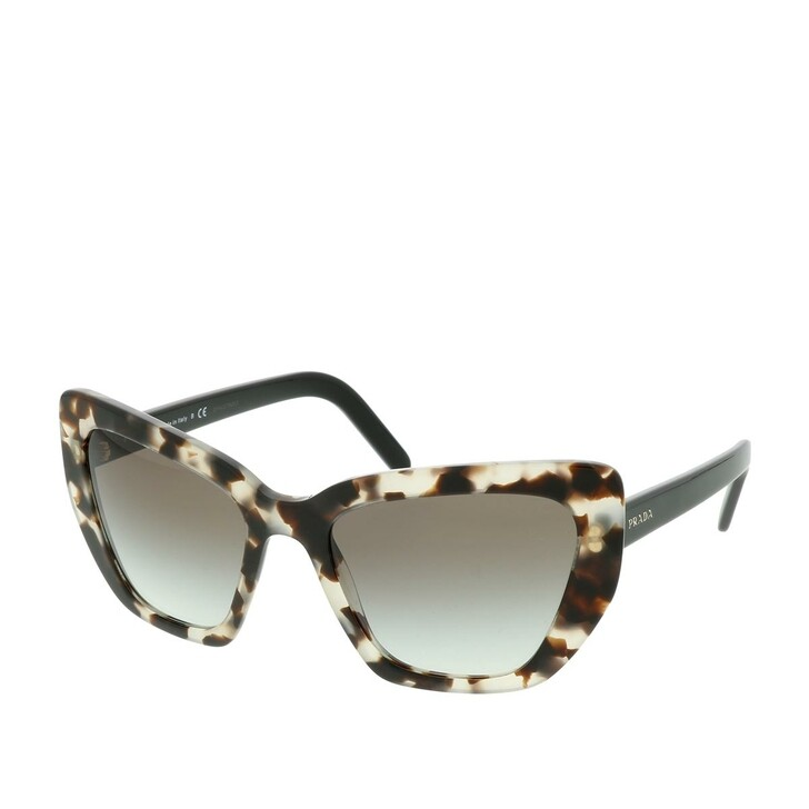 Sonnenbrille, Prada, 0PR 08VS UAO0A7 Woman Sunglasses Catwalk Spotted Brown