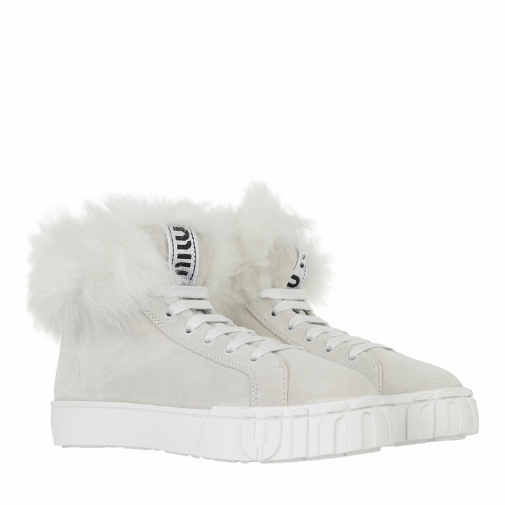 shoes, Miu Miu, High Top Sneaker Telco