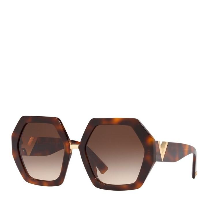 Sonnenbrille, Valentino, AZETAT WOMEN SONNE HAVANA