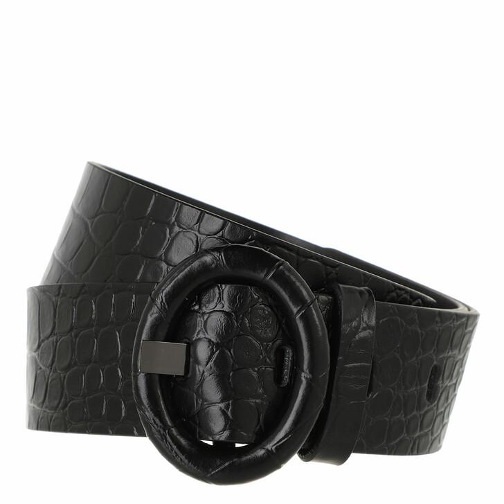 belts, WEEKEND Max Mara, Key Belt Black