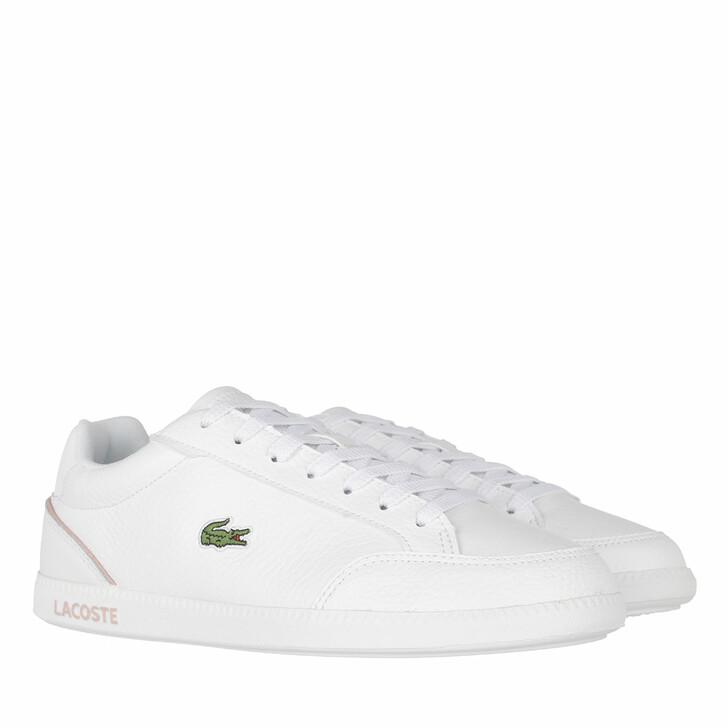 Schuh, Lacoste, Graduate Cap Sneaker White Light Pink