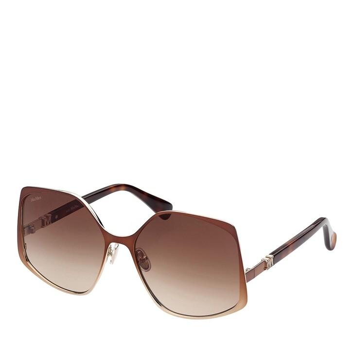 Sonnenbrille, Max Mara, MM0016 Light Brown/Other/Gradient Brown