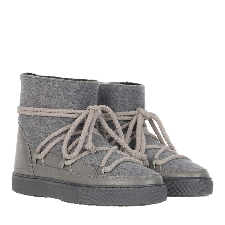 shoes, INUIKII, Sneaker Felt Grey