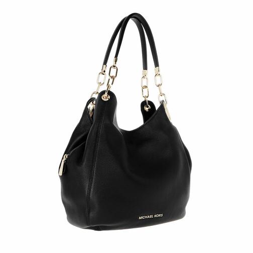Michael Kors Sacs portés main, Lillie Large Chain Shoulder Tote Bag en noir - Totespour dames